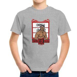 Cloud City 35090 Chong Li House of Pain Bloodsport Kid's T-Shirt Heather Grey Medium