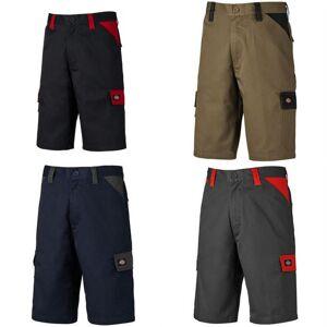 Dickies Mens vardagliga Shorts Khaki/svart 34