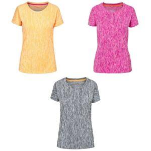 Trespass Womens/damer Daffney Active T-Shirt Bär Lila Marl M