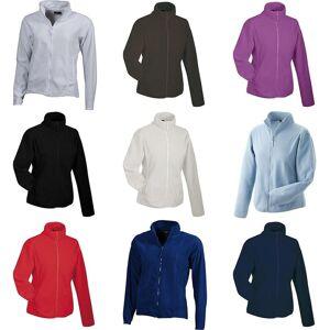 James Nicholson James och Nicholson Womens/damer Microfleece Jacket Lila XL
