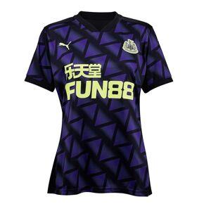 Puma Womens Newcastle United tredje tröja 2020 2021 Ladies Inhemska Replica Top Lila/svart 16 (XL)