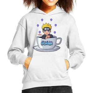 Cloud City 7 Naruto Tea Purple Kid ' s Huvtröja Vit X-Large (12-13 yrs)