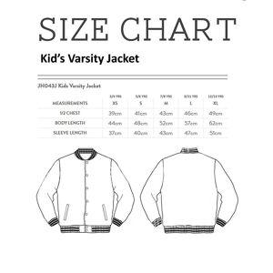 Cloud City 7 Detta är min sightseeing shirt Kid ' s Varsity jacka Svart/vit Medium (7-8 yrs)