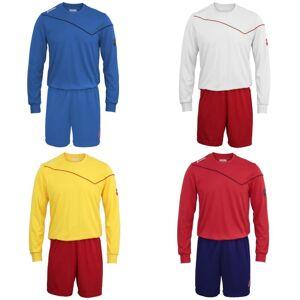 Lotto pojkar fotboll Sport Kit lång ärm Sigma (Full Kit skjorta & Shorts) Royal 2XSB