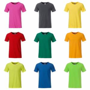 James Nicholson James och Nicholson pojkar Basic T-Shirt Orange S