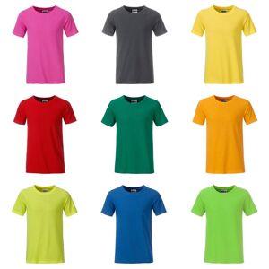 James Nicholson James och Nicholson pojkar Basic T-Shirt Rosa L