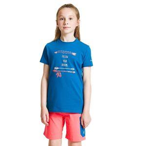 Dare 2b Våga 2b Pojkar Gå utöver bomull Casual Graphic T Shirt Eldröd 5-6 Years - Chest 59-61cm (Height 110-116cm)
