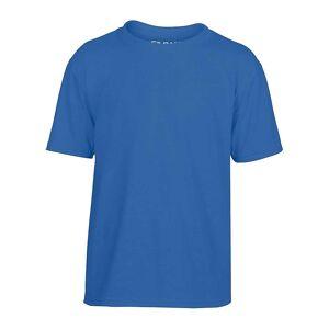 Gildan Kids Performance ungdom T-shirt Svart XL