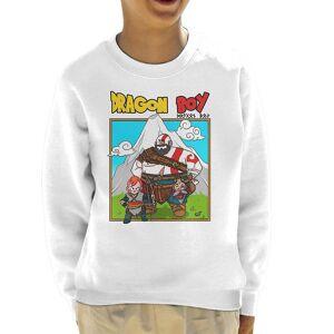 Cloud City 7 Dragon Boy Kid's Tröja Vit X-Small (3-4 yrs)