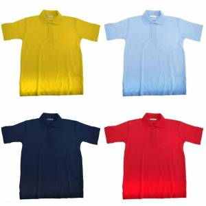 Kustom Kit Klassic Childrens ullprogram 60 Polo Shirt Kanariefågel 11-12