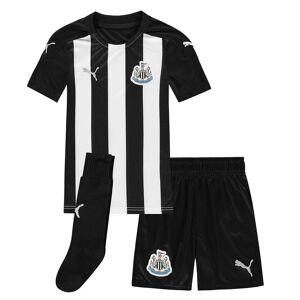 Puma Kids Newcastle United Home Mini Kit 2020 2021 Fotbollsträning Svart/vit 3-4 Years