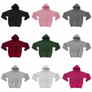 Gildan Heavy blanda Childrens Unisex Hooded Sweatshirt Top / Hoodie Azalea M