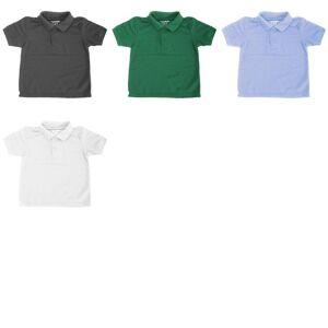 Gildan DryBlend Ungdom sport Double Pique Piké tröja (förpackning med 2) Maroon L
