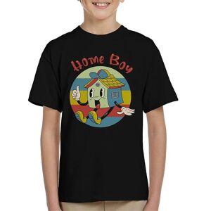 Cloud City 7 Hem Boy Kid's T-Shirt Svart X-Small (3-4 yrs)