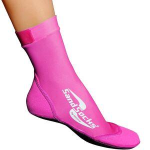 Sand Socks Sand strumpor klassiska höga topp neopren atletiska strumpor - rosa M