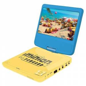 LEXIBOOK Lecteur DVD bärbar DVD-spelare (modell nr DVDP6DES)