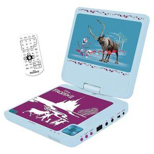 Lexibook Frozen II Bärbar DVD-spelare - Himmelsblå