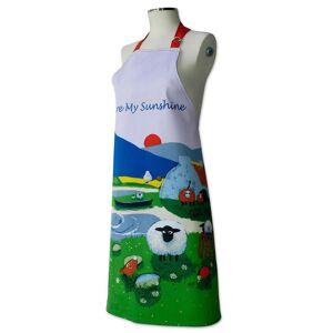 Thomas Joseph förkläde, Ewe är min Sunshine fåren Design Multi
