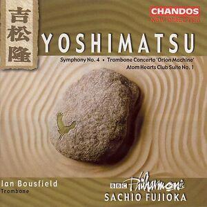 CHANDOS T. Gora Hanaougi - Takashi Yoshimatsu: Symfoni nr 4. Trombon konsert; Atom Hearts Club Suite nr 1 [CD] USA import