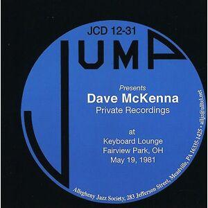 Jump Dave McKenna - privata inspelningar-på tangentbordet Lounge Fairview Par [CD] USA import