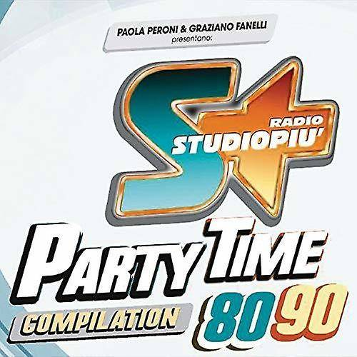 PID Radiostudiopiu Party Time 80-90 [CD] USA import