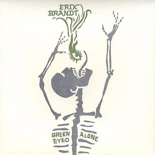 CD BABY.COM/INDYS Erik Brandt - Green Eyed ensam [CD] USA import