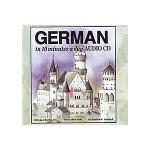 10 minuter om dagen ljud-CD plånbok tyska av Kristine K Kershul