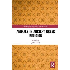 Djur i antik grekisk religion av Redigerad av Julia Kindt