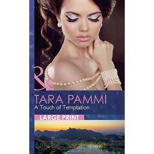 En Touch av frestelsen (Mills & Boon Largeprint Romantik) (Häftad) av Pammi Tara 21.30 cm x 2.70 cm x 2.70 cm