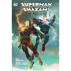 Shazam / Superman: Första Thunder engelska Hardback Book