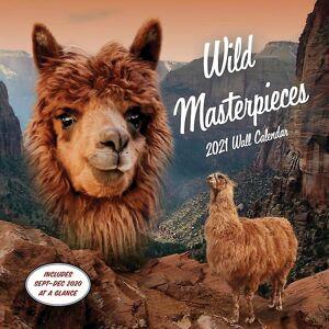 2021 Wall Kalender Wild Mästerverk av av konstnären Evan Douglas