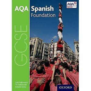 AQA GCSE spanska stiftelsen student bok av John Halksworth