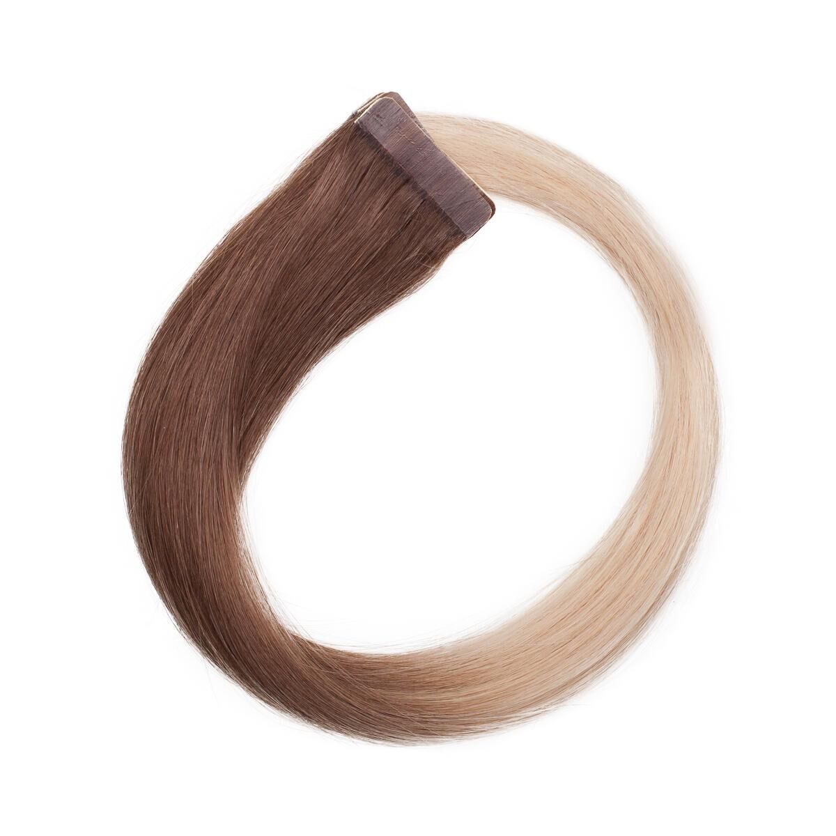 Rapunzel® Äkta löshår Quick & Easy Premium Rakt O5.1/10.8 Medium Ash Blond Ombre 40 cm