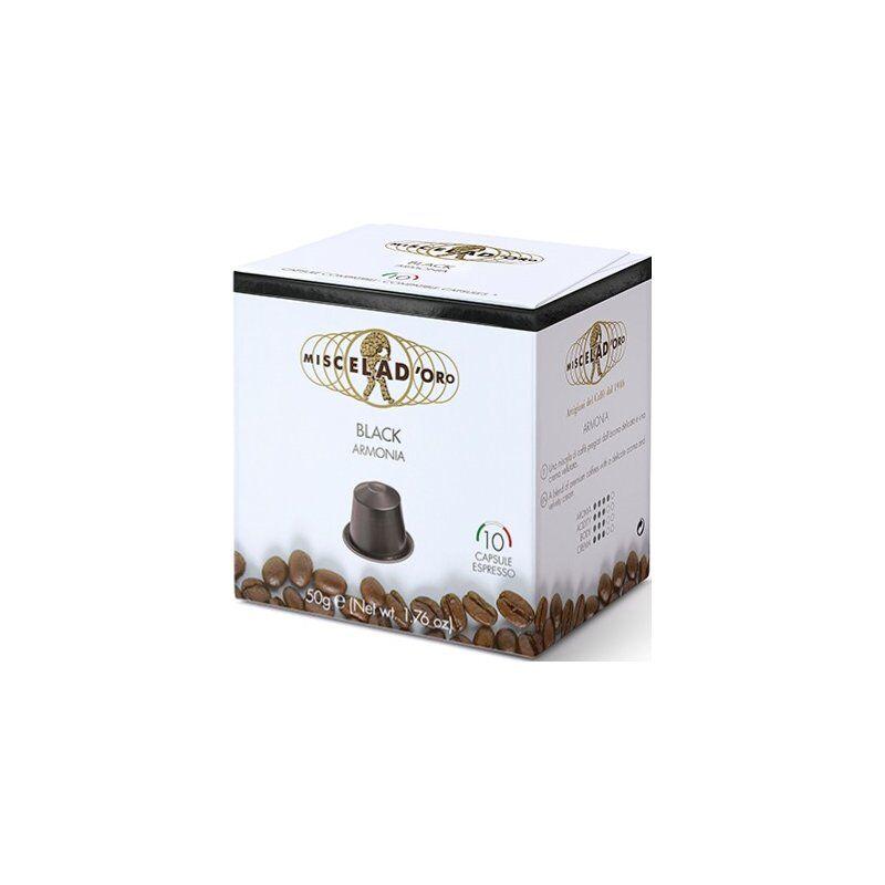 Miscela d'Oro Black Nespresso-kompatibel kaffekapsel 10 st