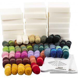 Creative Materialset till Kreativ Inlärning, 1 set, mixade färger