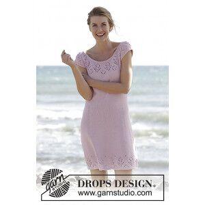 Drops - Garnstudio Beach Date by DROPS Design - Klänning Stick-opskrift strl. S - XXXL
