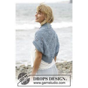 Drops - Garnstudio Beach Bolero by DROPS Design - Bolero Stick-opskrift strl. S/M - XXXL