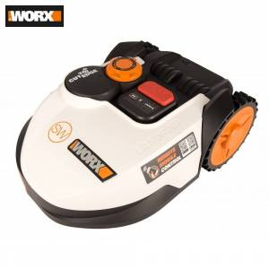 Robot Mowers Worx WR100SI Tools Garden Tool Power robotic automatic mow grass shearing lawnmower lawnmowers lawn mower Robots electro rechargeable for lawns Built-in Wi-Fi lift Sensor Sensors functions Landroid S