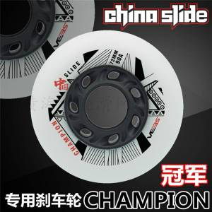 Original China Slide Champion 90A inline skates wheel for SEBA Sliding Roller Skating Patines IGOR KSJ WFSC HV High Carbon 8 pcs