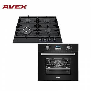 Set the cooktop AVEX HM 6042 B and electric oven AVEX HM 6170 B