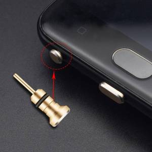 Audio Music Dust Plug 3.5 AUX Headset Interface Mobile Phone Card Retrieve Card Pin for Apple Iphone 5 6 Plus Samsung