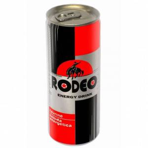 Cc Rodeo energy drink 250 cc. Taurine and coffee based drink