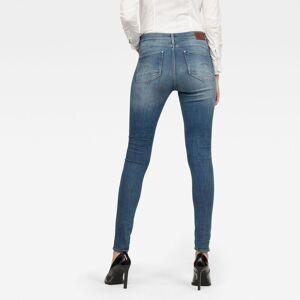 G-Star RAW Lhana High Super Skinny Jeans 31-30 Medium blue