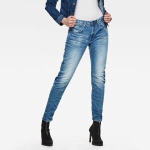 G-Star RAW Arc 3D Low Waist Boyfriend Jeans 27-32 Light blue