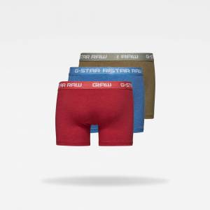 G-Star RAW Classic Trunk 3-Pack XS Multi color