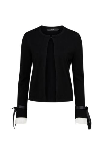 Vero Moda Cardigan vmViana Tie Glory LS Black