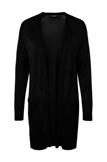 Vero Moda Cardigan vmVica LS Open Cardigan Black