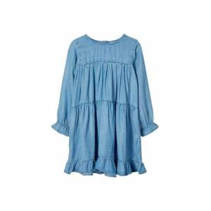 Name it Klänning nmfDeedee LS Dress Dream blue