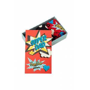 Happy Socks 3-Pack Strumpor Father's Day Socks Gift Set Multi