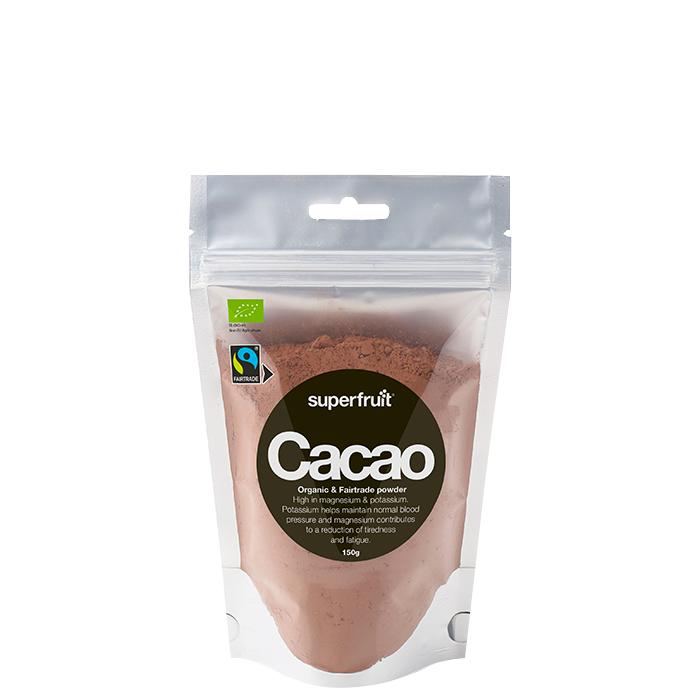 Superfruit Kakaopulver EKO & Fairtrade, 150 g